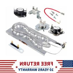 3387747 Dryer Heating Element Kit,Thermal Fuse for Kenmore